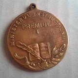 PREMIUL I MINISTERUL INSTRUCTIUNII CAROL II FRUMOS - Medalii Romania