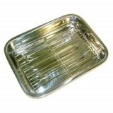 Tava din inox pentru lasagna 40 cm