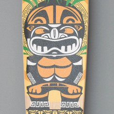 Longboard DROP SHAPE - Totem tribal - NOU - Skateboard, Marime: 50, Barbati