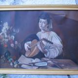 Tablou, Scene gen, Ulei, Realism - Seralio Marcel pictura pe panza, scena clasica 75 x 56 cm