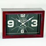 Ceas cu proiectie - Ceas metalic de masa Old Town
