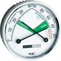 Higrometru-Termometru cu indicator de confort