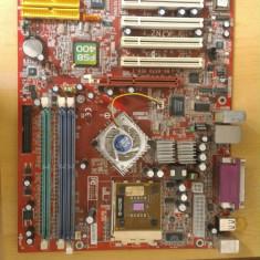 Placa de baza MSI MS-6570 Kn Socket A(462) DDR1, Pentru AMD, A, Contine procesor