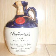 Sticla Whisky Ballantine's foarte veche, sigilata anii 1960-1970