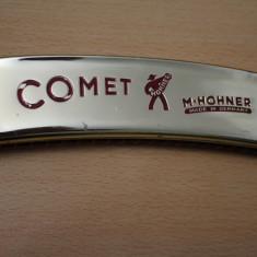 MUZICUTA-COMET-HOHNER-D=15X3, 5CM-AURIE-GERMANY