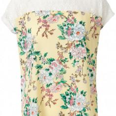 Bluza dama - Bluza cu dantela Vero Moda -10153898 galben floral