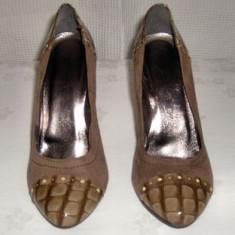 Pantofi dama, Piele naturala - Pantof dama din piele ANNO ZERO Italia marimea 37