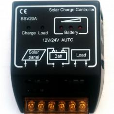 Regulator Controller solar 20A 12V/24V