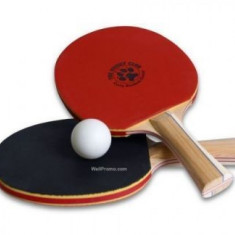 2 Seturi Palete Ping Pong premium + 3 Mingii cadou - Paleta ping pong