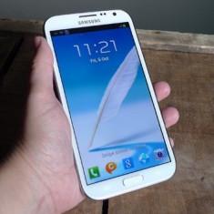 Telefon mobil Samsung Galaxy Note 2, Alb, 16GB, Neblocat - Samsung Galaxy Note 2