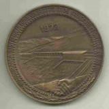 Medalii Romania - MEDALIE INAUGURAREA SISTEMULUI HIDROENERGETIC SI DE NAVIGATIE PORTILE DE FIER