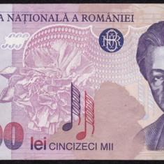2. ROMANIA, 50000 LEI 1996, seria 004B0744249