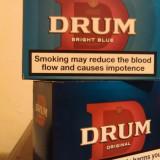 Tutun Drum Original&BrightBlue U.K.  50 gr./ livrare Vitan MALL,metrou Dristor