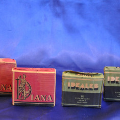 Pachete de tigari vechi, Spania: DIANA si IDEALS. Tutun de colectie! - Pachet tigari