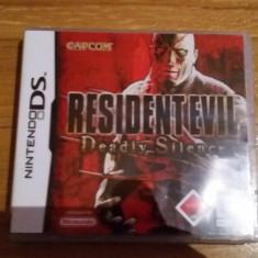 JOC NINTENDO DS RESIDENT EVIL DEADLY SILENCE ORIGINAL / by DARK WADDER - Jocuri Nintendo DS Capcom, Actiune, 12+, Single player