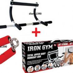 Bara de TRACTIUNI Aparat De Forta Iron Gym + Flexor