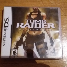 JOC NINTENDO DS TOMB RAIDER UNDERWORLD ORIGINAL / by WADDER - Jocuri Nintendo DS Eidos, Actiune, 12+, Single player