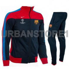 Trening barbati Nike, Microfibra - Trening Nike FC Barcelona, Trening Slim Fit + LIVRARE GRATUITA!