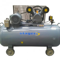 Compresor electric - Compresor de aer 200 litri Stager - HM V 0.6/200