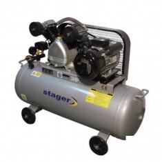 Compresor electric - Compresor de aer 50 litri Stager - V-0.15/125