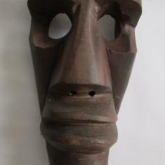 Arta din Africa - MASCA AFRICANA-2-arta africana-aplica, lemn exotic, vintage