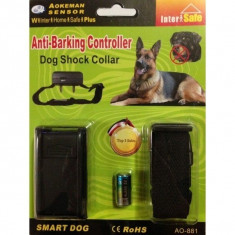 Zgarda antilatrat Anti Barking Controller, Nailon