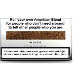 Foite tigari - Tutun Mac Baren American Blend White 35g - produs ORIGINAL CU TIMBRU ROMANESC