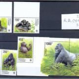 ST-162=CONGO Kinshasa 2002=WWF-maimute,serie wwf si colita