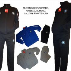 Trening barbati Puma, Bumbac - TRENINGURI PUMA/ BMW, MODEL CLASIC, MATERIAL BUMBAC, LIVRARE GRATUITA