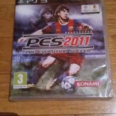 JOC PS3 PES 2011 PRO EVOLUTION SOCCER SIGILAT ORIGINAL / by WADDER - Jocuri PS3 Sony, Sporturi, 3+, Multiplayer
