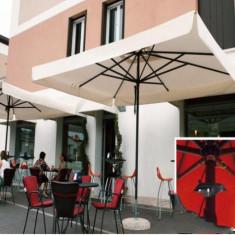 Mobila terasa gradina - Umbrela Napoli - cu schelet de aliaj metalic usor 3.5 m - Sco3500N