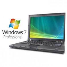 Laptop Lenovo - Laptopuri Refurbished ThinkPad T61 T7300 Windows 7 Pro