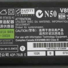 Alimentator original Sony Vaio VGP-AC19v37 19.5v 3.9a 75w 6.5x4.4 - Incarcator Laptop Toshiba, Incarcator standard