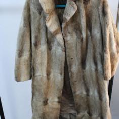 Palton dama - Haina de blana naturala second-hand, provenienta SUA (F010)