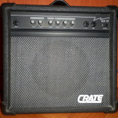 CRATE GX15 amplificator chitara(fender gibson ibanez)