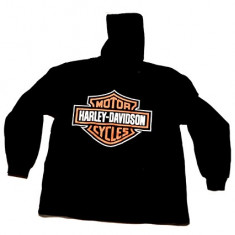 Hanorac Motor Harley Davidson - Hanorac barbati, Marime: XL, XXL, Culoare: Din imagine