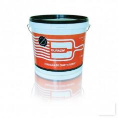Tapet - Tencuiala de cuart colorat cu Kauciuc Duraziv - 25 kg