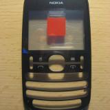 Carcasa fata Nokia Asha 200 Originala, NOUA, CEL MAI MIC PRET !