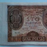 Republica Polona - 100 Zlotych 02-06-1932 - Serie cu 1 punct - bancnota europa