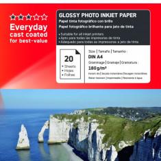 Hartie foto imprimanta - HARTIE FOTO AGFA GLOSSY INKJET A4 180G/20COLI