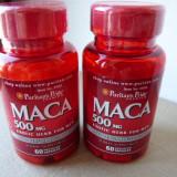 Maca - formula CONCENTRATA 500mg - stimulent alimentar natural