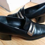 Pantofi din piele firma Tamaris marimea 39, arata ca noi!