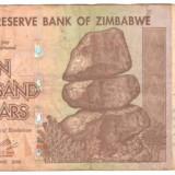 SV * Zimbabwe 10000 DOLLARS / 10.000 DOLARI 2008, Africa, An: 2008
