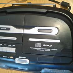 Casetofon cu cd(mp3), caseta si stik