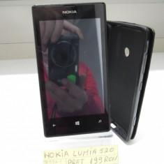 Telefon mobil Nokia Lumia 520, Negru, Neblocat - NOKIA LUMIA520(LAG)