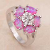 Inel din argint cu opal imperial - Inel argint