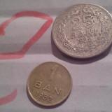 1 BAN 1952+CADOU 25 BANI 1952/2 - Moneda Romania