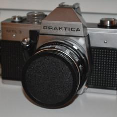 Praktica MTL3 cu obiectiv Pentacon 50mm f1, 8 - Aparat Foto cu Film Praktica, SLR