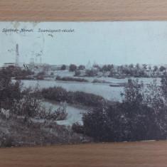 SATU MARE - SZAMOSPARTI- RESZLET - Carte Postala Transilvania 1904-1918, Circulata, Fotografie