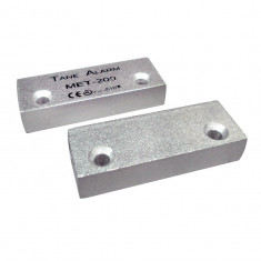 Sisteme de alarma - Contact magnetic metalic aluminiu aparent alarma usa metalica Tane MET 200